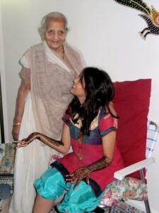 ba and bhumi at mehendi